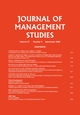 Journal of Management Studies (JOMS) cover image