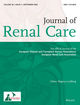 Journal of Renal Care (JORC) cover image