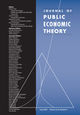 Journal of Public Economic Theory (JPE3) cover image