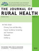The Journal of Rural Health (JRH) cover image