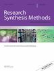 Research Synthesis Methods (JRSM) cover image