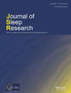 Journal of Sleep Research (JSR2) cover image