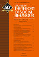 Journal for the Theory of Social Behaviour (JTSB) cover image