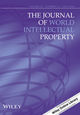 The Journal of World Intellectual Property (JWIP) cover image