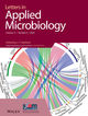Letters in Applied Microbiology (LAM) cover image