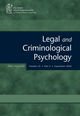 Legal and Criminological Psychology (LCRP) cover image