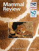 Mammal Review (MAM) cover image