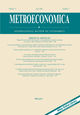 Metroeconomica (MECA) cover image