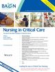 Nursing in Critical Care (NICC) cover image