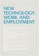 New Technology, Work and Employment (NTWE) cover image