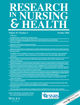 Research in Nursing & Health (NUR) cover image
