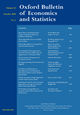 Oxford Bulletin of Economics and Statistics (OBES) cover image