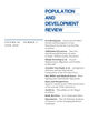 Population and Development Review (PADR) cover image
