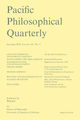 Pacific Philosophical Quarterly (PAPQ) cover image