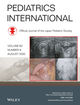 Pediatrics International (PED2) cover image