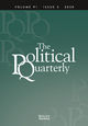 The Political Quarterly (POQU) cover image