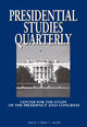 Presidential Studies Quarterly (PSQ2) cover image