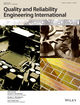 Quality and Reliability Engineering International (QRE) cover image