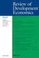 Review of Development Economics (RODE) cover image