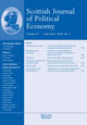 Scottish Journal of Political Economy (SJPE) cover image