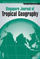 Singapore Journal of Tropical Geography (SJT3) cover image