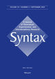 Syntax (SYNT) cover image