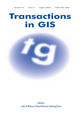 Transactions in GIS (TGI3) cover image