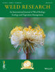 Weed Research (WRE) cover image